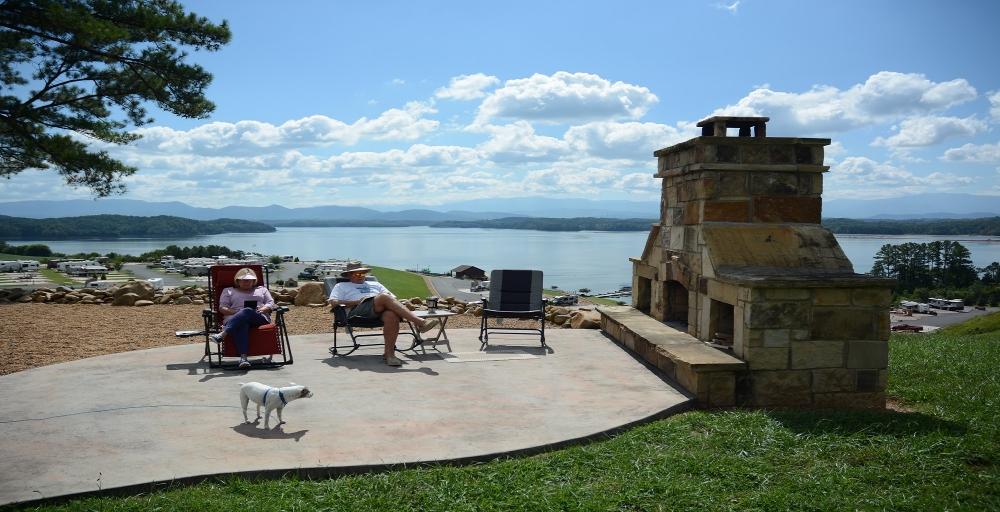 Anchor Down RV Resort on Douglas Lake