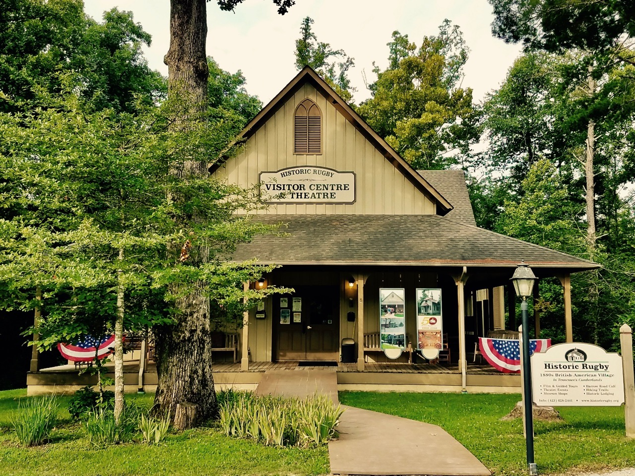 Historic Rugby & Big South Fork National River & Recreation Area